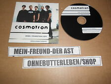 CD Indie COSMOTRON-DEMO/promo Copy (4 chanson) promo private press