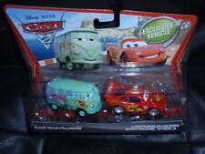 Disney Cars 2 Movie Moments RACE FILLMORE TRAVEL WHEELS MCQUEEN