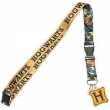 Harry Potter Hogwarts Lanyard with ID Holder & Charm New