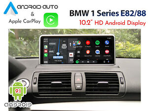 """BMW E82 Series - Touch 10.2"""" Android 9.0 Display with CarPlay & Android Auto"""