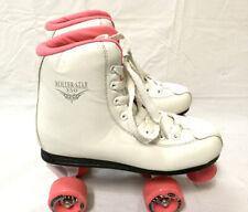 Roller Derby Roller Star 350 Girls Quad Skate Size 5 White/Pink