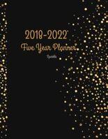 2018 - 2022 Sparkle Five Year Planner 2018-2022 Monthly Schedule Organizer
