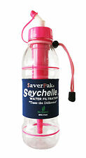$averPak Single - Includes 1 Seychelle 20oz Advanced Filter Sports Bottle (Pink)