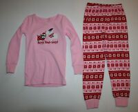 NEW Gymboree Girls Puppy Dog Holiday Pajamas Gymmies PJs 3 4 6 year Happy Howl