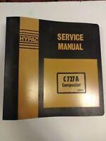 HYPAC Service Manual C 727 A Compactor 599812 OEM Repair Guide