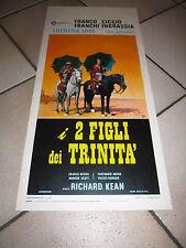 LOCANDINA I 2 DUE FIGLI DEI TRINITA' FRANCHI INGRASSIA FRANCO CICCIO 1972