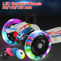 80-120mm Outdoor LED Flash Roller Light Up Skate Wheel for Mini Scooter 2 ABED-7