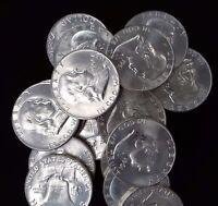 1961-D BU FRANKLIN HALF DOLLAR - SINGLE COIN - FREE SHIPPING IN THE USA