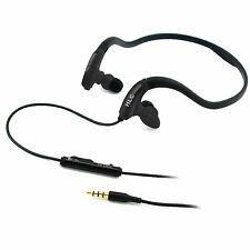 f Universal Sport Earphone-HLC-R27(Black) With Remote And Mike For Most Devices
