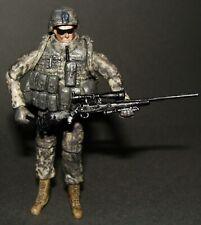 1:18 OURWAR Tieka U.S Army 101st Infantry Sniper Sharpshooter Soldier Figure