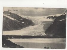 Norway Svartisen 1912 Postcard 108b