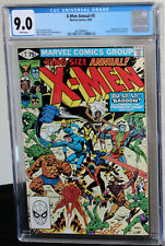 X-Men Annual #5 Fantastic Four 1981 CGC VF/NM 9.0 White Pages 3813998022