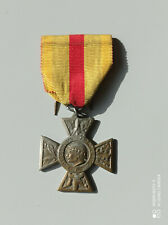 W10.O) Belle médaille combattant volontaire guerre 1914 1918 WW1 French medal