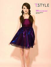 %Mina Uk Once Upon A Time Vestido, púrpura XS