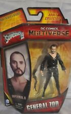 "General Zod Action Figure Superman II DC Multiverse 4"" MOC Adult Collector"