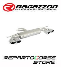 RAGAZZON SCARICO POSTERIORE INOX SDOPPIATO TERMINALI OVALI 4/108x70MM 50.0581.35