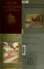 228 BOOKS MAYFLOWER PILGRIMS HISTORY ANCESTRY GENEALOGY AMERICAN - VOL1 ON DVD