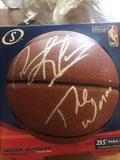 "Dennis Rodman Signed Spalding Basketball ""The Worm"" Inscription Auto Autogra"