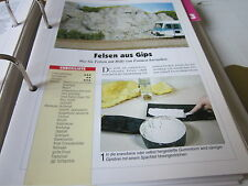 Model Railway Step by Step 2 B Plaster Rocks KD with shapes