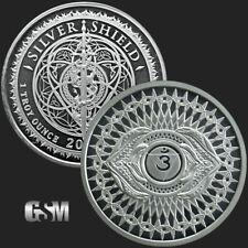 2018 - 1 oz Third Eye Chakra #6 MiniMintage BU Silver Round .999 Fine IN-STOCK!