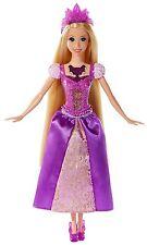 Disney Princess Barbie, Glittering Lights Rapunzel Doll, Girls , Mattel BDJ24