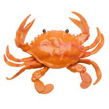Simulation Marine Animal Model Soft Rubber Hairy Crab Pinch Sounding Bath Toy
