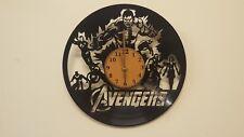 Avengers 1 Vinyl Clock home decor gift