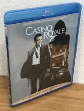 CASINO ROYALE (Blu-Ray Disc, 2007) Region A LIKE NEW! SEE PICS