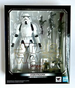 S. H. Figuarts Star Wars: A New Hope Stormtrooper Figure New Sealed Bandai