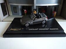 RICKO CHRYSLER  CROSSFIRE ROADSTER  CHARCOAL  CONVERTIBLE   1/87  HO CAR PLASTIC