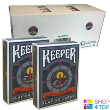 12 DECKS ELLUSIONIST KEEPER BLUE BICYCLE PLAYING CARDS SEALED BOX CASE