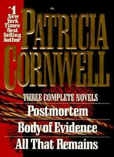"Three Complete Novels: ""Postmortem/Body of Evidence/All That Remains"",Patricia"