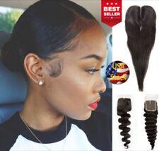 Adjustable 10A Brazilian Virgin Remy100% Unprocessed Human Hair Lace Closure 4x4