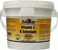 Animed Vitamin E & Selenium + Zinc Equine Horse Feed Supplement 5 Pounds Race