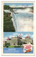1952 Home of Nabisco Shredded Wheat at Niagara Falls, NY Postcard