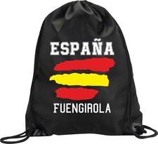 BACKPACK BAG FUENGIROLA SPAIN GYM HANDBAG FLAG SPORT