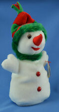 Snowgirl TY Beanie Baby Snow Woman Snowman Holiday November 30 2000 MWMT 4333