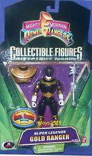 "Power Rangers Super Legends 5"" Zeo Gold Ranger New 2008 Factory Sealed"