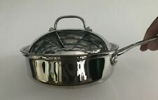 CUISINART 2 Qt. Saute Pan w Cover 18/10 Stainless Steel #7337-20