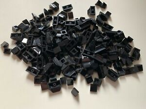 200 lego parts - black parts - lot - ROOF TILES - STAR WARS CITY