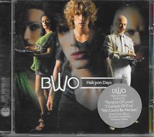 BWO - Halcyon days CD Album 16TR Europop Euro House Synth-Pop 2006 Sweden