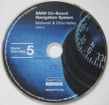 01 2002 BMW X5 Z3 745i 745Li 525i NAVIGATION MAP NAV DISC CD MIDWEST OHIO VALLEY