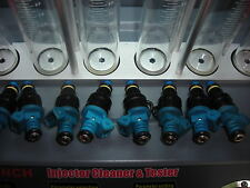 HOLDEN BOSCH 775 BLUETOP INJECTORS SERVICED SUIT 304 355 STROKER CAM EG