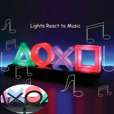 Playstation Sign Voice Control Game Icon Light Acrylic Ambient Atmosphere Light