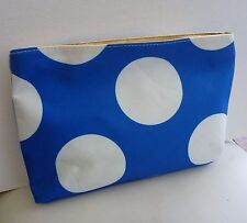 1x Elizabeth Arden Blue Makeup Cosmetics Bag, Large Size, Brand NEW!!
