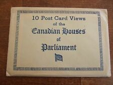 10 Postcards, Canadian Houses of Parliament  Ottawa,  Good Condition