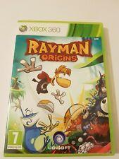 """XBOX 360 """"RAYMAN ORIGINS"""" - Excellent état Disque + Manuel"""