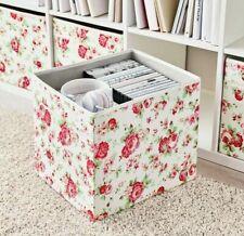 IKEA DRONA KALLAX FOLDABLE STORAGE BOX FLORAL FLOWERS CATH KIDSTON DESIGN