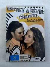 BRITNEY AND KEVIN: CHAOTIC - THE DVD AND MORE, DVD+CD R-4, LIKE NEW, FREE POST