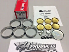 Ford 289 302 351W Dura-Bond FP18 HP Cam Bearings + Melling MPE-108BR BRASS Plugs